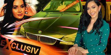 EXCLUSIV Bianca Comănici și-a luat bolid de lux! Primele imagini cu mașina de vis