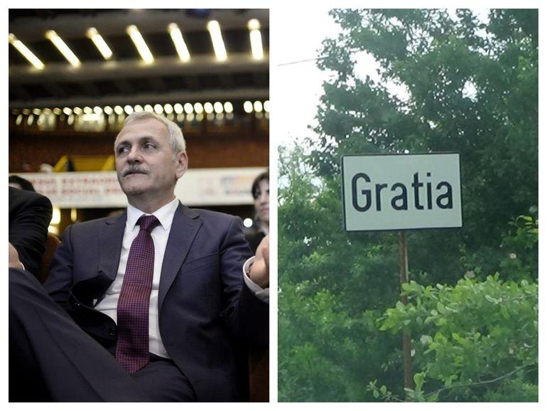 """Mare sărbătoare în Gratia, comuna în care s-a născut Liviu Dragnea! Sătenii au avut două motive de sărbătoare: """"Așa s-a nimerit. A băut lumea de două ori"""""""