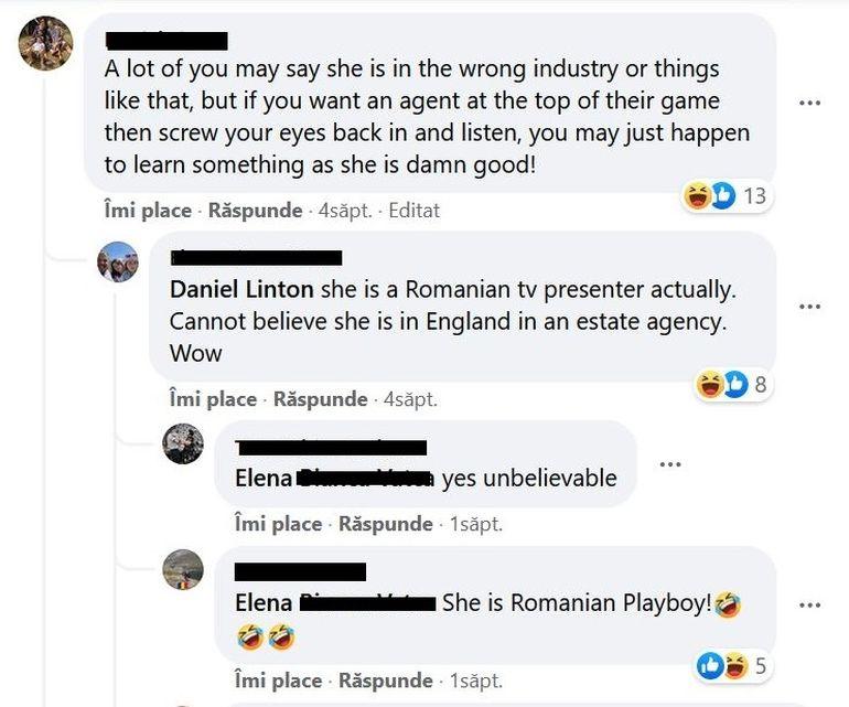 """Rocsana Marcu a plecat la Londra să lucreze la o agenție imobiliară, dar românii au demascat-o! """"Nu știați că a fost în Playboy?"""""""
