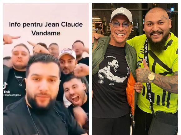 """Tzanca Uraganu`i-a transmis un mesaj lui Jean Claude Van Damme: """"Frățiorul meu, vreau să-mi cer scuze..."""". Totul după ce actorul a fost surprins distrându-se pe muzica manelistului"""