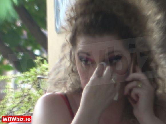 EXCLUSIV! Oana Lis a bufnit în plâns într-un restaurant din Capitală! Copleșită de probleme, soția lui Viorel Lis a cedat