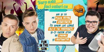 Radio Impuls se mută la mare! Cel mai cool post din România emite de pe plajă
