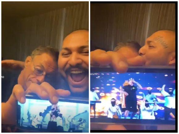 Dani Mocanu, un nou videoclip cu Van Damme! Celebrul actor îi ascultă piesele manelistului