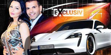 Care criză? Brigitte și-a comandat un Porsche electric de 100.000 de euro! Bruneta aplică și la programul Rabla?! EXCLUSIV