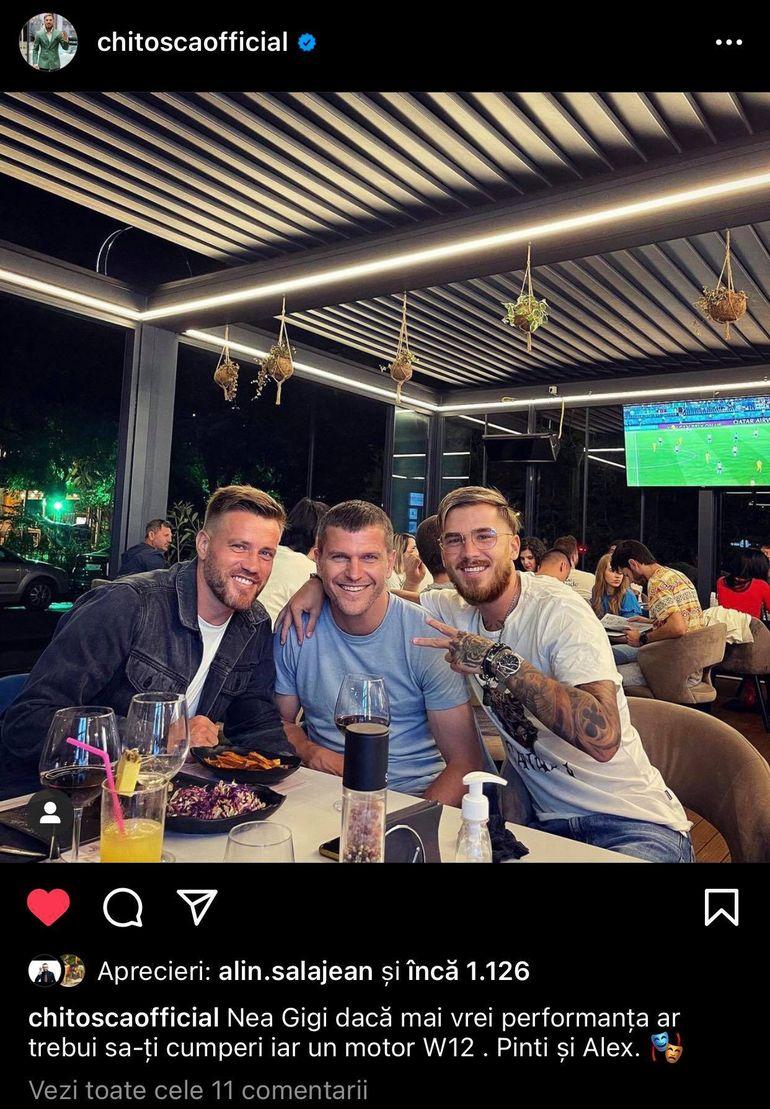 """Sebastian Chitoșcă i-a transmis un mesaj lui Gigi Becali: """"Dacă mai vrei performanță..."""". Cu cine a fost surprins fostul fotbalist de la FCSB"""