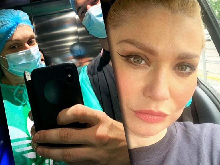 Cristina Cioran, primele imagini din spital! Fosta prezentatoare TV a fost în vizită la fiica ei