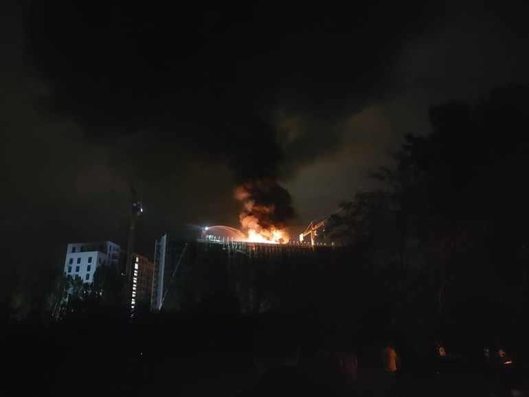 """Clotilde Armand, prima reacție după incendiul din nordul Capitalei: """"Am dispus să se facă urgent verificările necesare"""""""