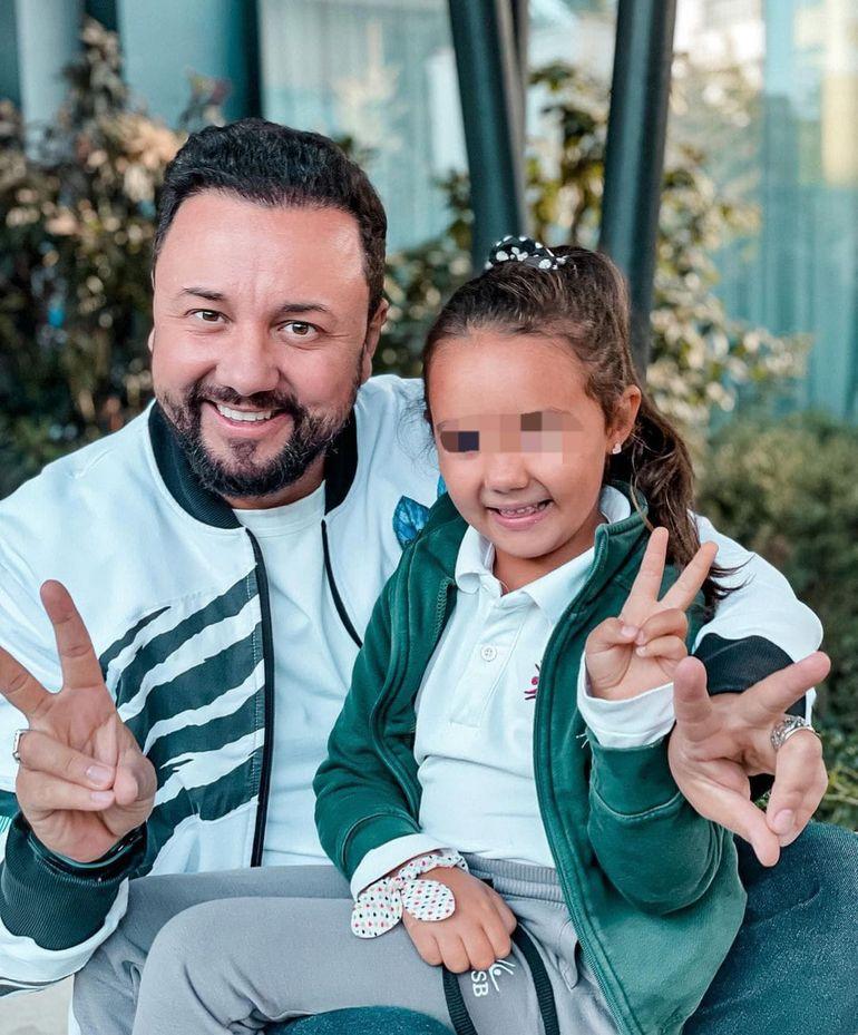 Eva, fiica lui Cătălin Măruță, copia fidelă a tatălui ei. Prezentatorul tv a postat o fotografie din copilărie, iar asemănarea este izbitoare: