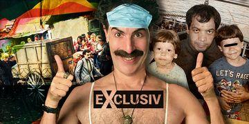 Tatăl lui Ionuț Anghel, băiatul ucis de câini, actor în comedia Borat 2! FOTO