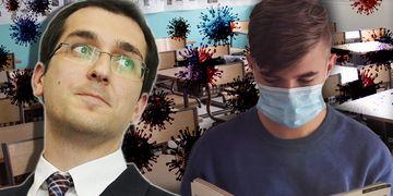 Vlad Voiculescu, anunț îngrijorător pentru elevi! Fostul ministru al Sănătății crede că școlile vor trece în online de săptămâna viitoare