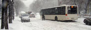 La noapte ninge in Bucuresti! Vezi cati centimetri va avea stratul de zapada!