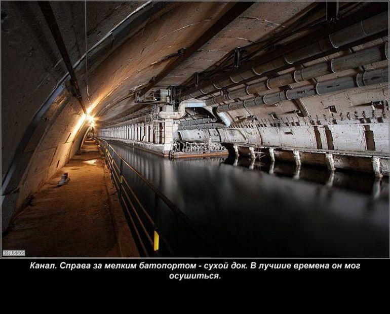 O fosta baza secreta, mandria Uniunii Sovietice din zona Marii Negre, este acum accesibila publicului!
