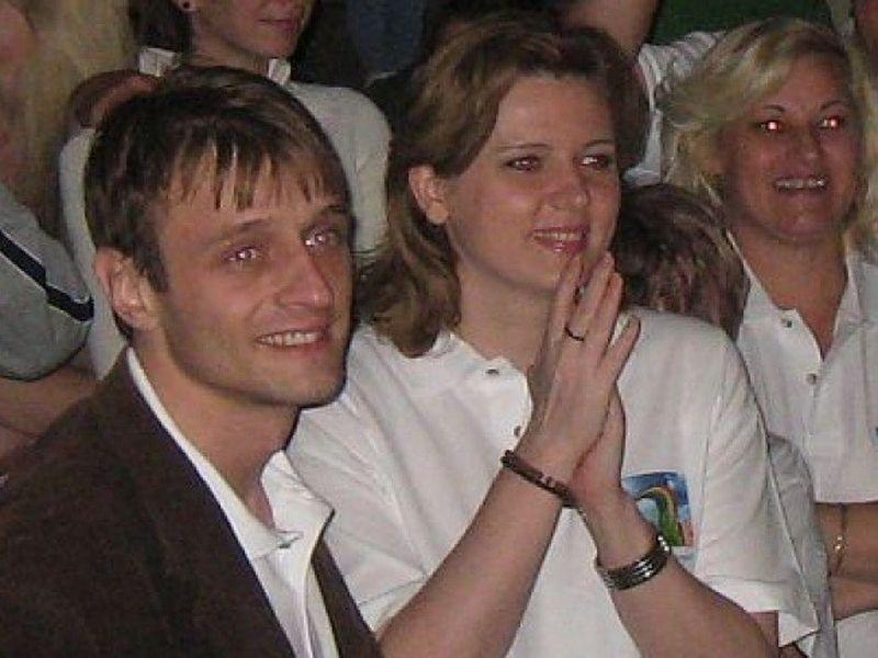 Roberta si Victor au aparut in public, la cateva evenimente politice