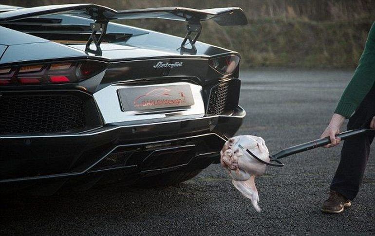 Cea mai tare metoda de a praji un curcan! Nu o sa iti vina sa crezi ce au reusit baietii astia cu un Lamborghini Aventador!