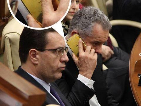 Uite ce si-a gravat un politician din Moldova pe telefon! A dat 6.000 de dolari pentru asta!
