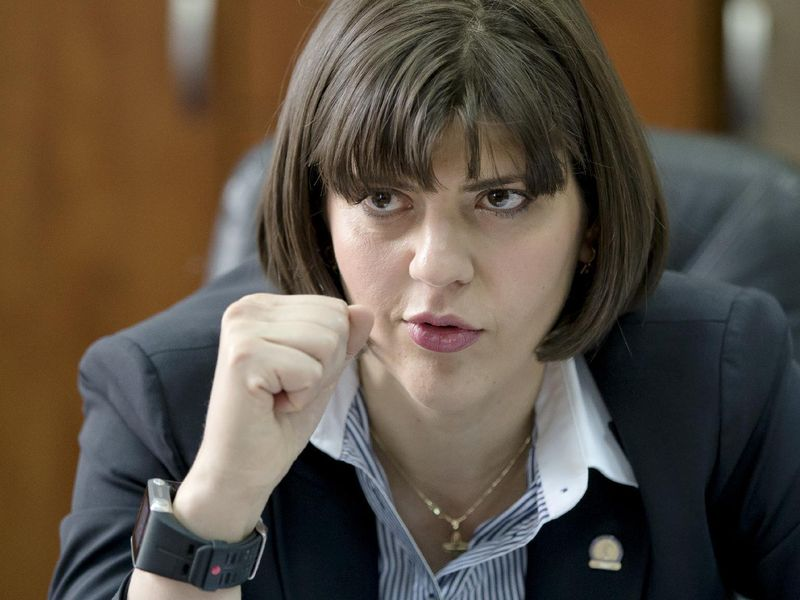 Laura Codruta Kovesi este sefa DNA