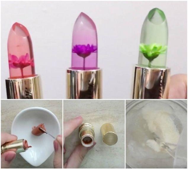 Cum Sa Prepari Ruj Transparent Cu Flori Poti Sa Faci Acasa Ce Se
