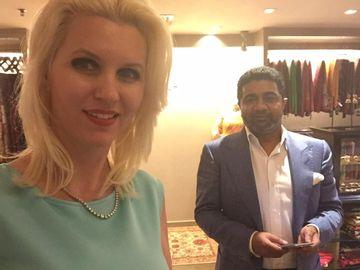 Cea mai bogata romanca din lume e fericita! Sotul ei indian a fost eliberat din puscarie! Anca Verma isi va petrece Anul Nou alaturi de miliardarul care fusese inchis pentru coruptie