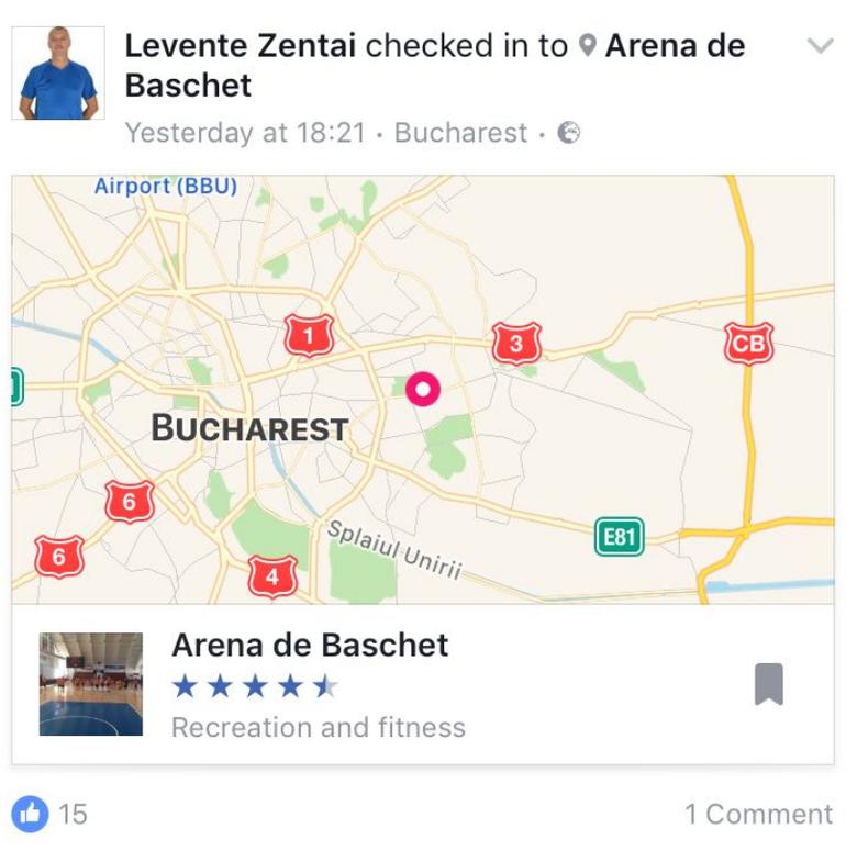 Antrenorul echipei de baschet de cadeti a Ungariei a fost gasit mort intr-un hotel din Bucureşti