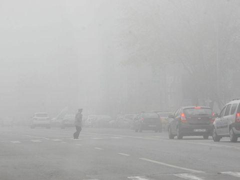 Meteorologii, anunt de ultima ora! Cod GALBEN de ceata! Care sunt zonele afectate