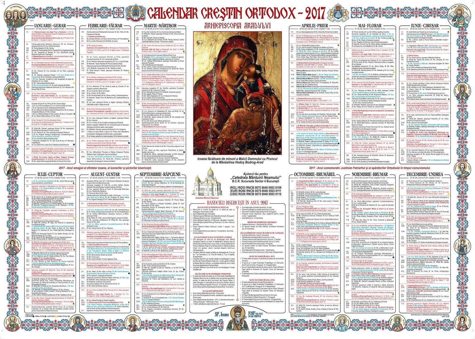 Calendar Crestin Ortodox.Calendar Crestin Ortodox 16 Mai Cui Ii Spunem Astazi La Multi Ani
