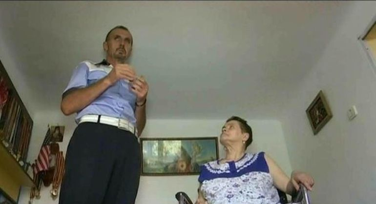 Povestea cumplita a politistului campion care lupta pentru a-si ajuta sotia grav bolnava!