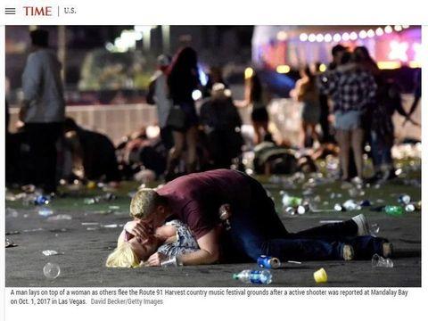 Povestea emotionanta din spatele fotografiei devenita simbol al atacului din Las Vegas