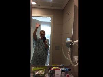 Dana Deac a stat 10 zile izolata intr-un buncar unde a fost iradiata! Primele imagini cu fosta vedeta tv, din camera unde a fost tratata impotriva cancerului de care sufera!  VIDEO