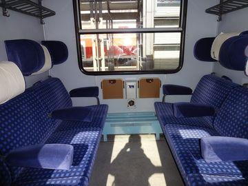 Un aradean s-a urcat in tren si a incercat sa fure telefonul unui calator! A scos cutitul, dar apoi ceva incredibil s-a intamplat! Cine era calatorul