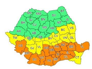 "Cod portocaliu in Bucuresti si 14 judete! Mesajul transmis de Viorica Dancila: ""Vom avea caderi abundente de zapada"""