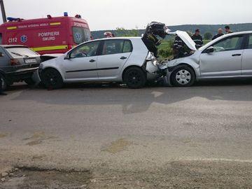 Accident in lant pe Autostrada Soarelui! Traficul este ingreunat pe sensul spre Bucuresti