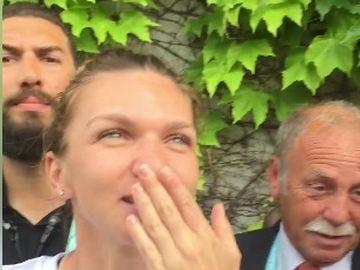 Momentul cu Simona Halep care iti face pielea de gaina! Cum a aparut invingatoarea de la Roland Garros, ieri, in fata romanilor