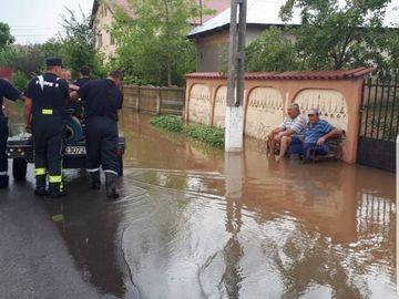 Imagini de la inundatiile din Romania care au devenit virale