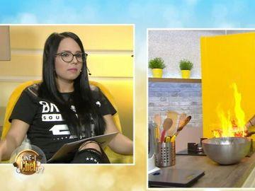 """Alerta in bucatarie! Un concurent de la """"Cine-i Chefu'?"""" s-a luptat cu focul!"""