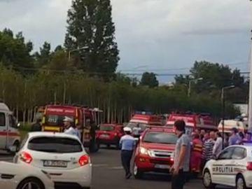 Accident grav in Capitala! O masina a intrat in pietoni! O fetita de 5 ani si tatal ei au fost raniti