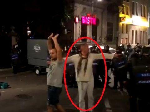 """""""Jandarmul in alb"""" din Piata Victoriei semneaza o lucrare despre """"incalcarea abuziva a drepturilor omului""""! Ce spune Paraschiv despre luarea de ostatici"""