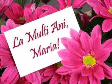 "Mesaje de ""La multi ani"" de Sfanta Maria. SMS-uri si urari de Sfanta Maria"