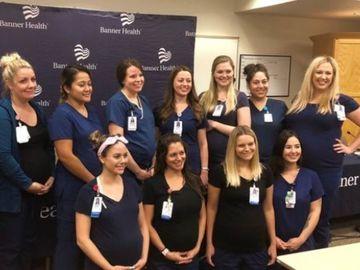 16 asistente de la acelasi spital, insarcinate in acelasi timp! Reactia personalului si cum au descoperit