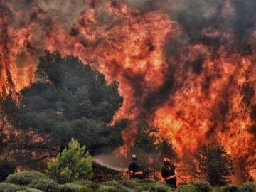 Risc major de noi incendii devastatoare in Grecia! Avertismentul pentru romani din partea MAE