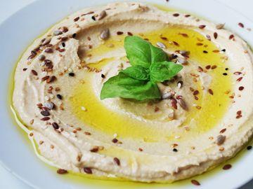 Reteta de humus cu ardei copti
