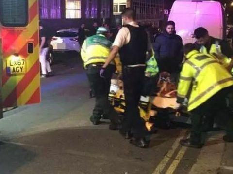Atac brutal in Londra, in fata unei moschei! O masina a intrat intr-un grup de persoane