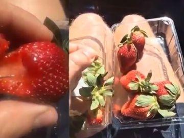 Atentie la cumparaturile din supermarket! S-au gasit ace de cusut in fructe
