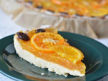 Reţete de post: Tartă de portocale