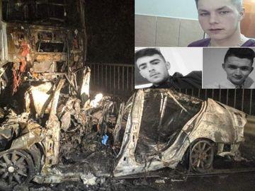 Accident cumplit în Bihor! Trei tineri au murit carbonizaţi! Plecaseră de la o cununie
