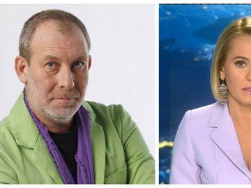 Ce reacţie a avut Andreea Esca în timpul ştirilor, după ce a anunţat că Florin Busuioc se află internat în spital