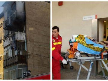 Tânărul ars în incendiul din Piatra Neamţ a murit chiar de ziua sa de nume! Familia este îndurerată