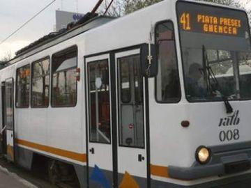 Veste proastă pentru bucureşteni! Tramvaiul 41 nu circulă în weekend