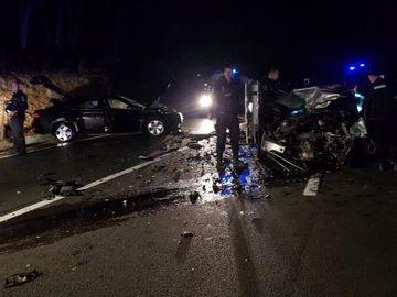 Accident de proporţii pe DN1! Patru persoane au fost rănite