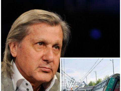 """Ilie Năstase, implicat într-un accident cu trenul, în această dimineaţă! """"O persoană decedată"""""""