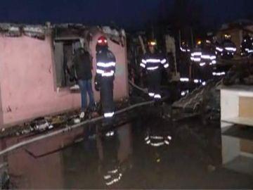 Incendiu devastator în Ilfov! Fetiţă de 2 ani şi o femeie, găsite carbonizate